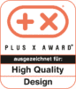 Plus X Award – High Quality, Design