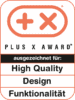 Plus X Award – High Quality, Design, Funktionalität