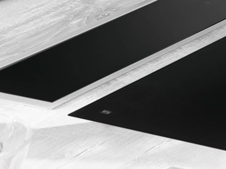 Versenkter Lift, aufgesetzter Rahmen