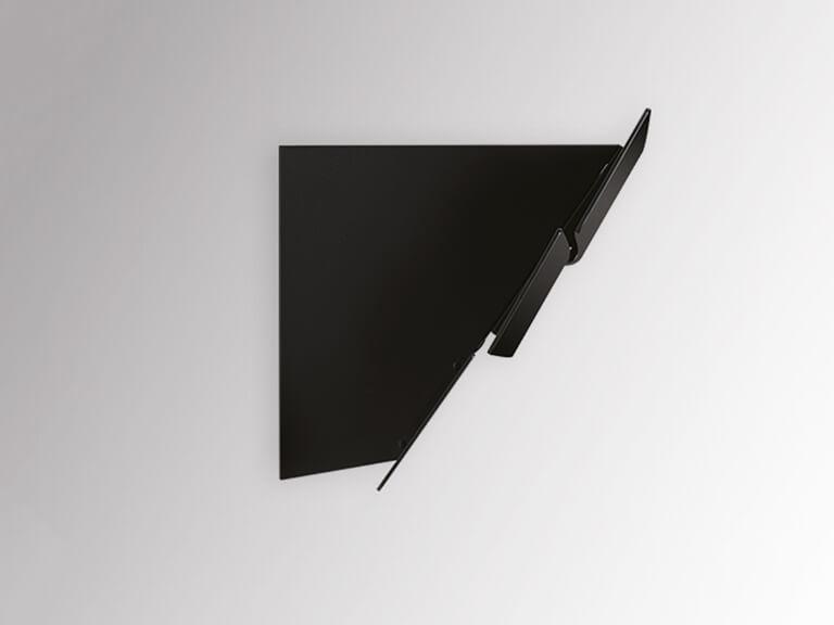 Schwarzer Korpus, ohne Schacht, Seitenansicht