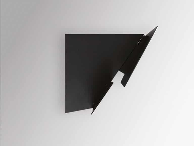 Schwarzer Korpus, Seitenansicht, ohne Schacht