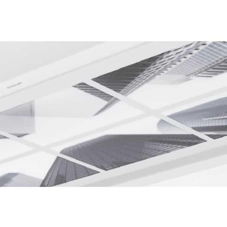 Acrylglasplatte Optik City 100 x 70 cm