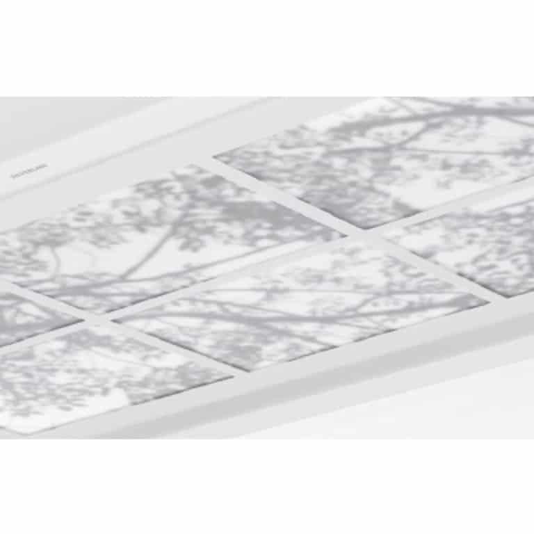 Acrylglasplatte Optik Wood 120 x 70 cm