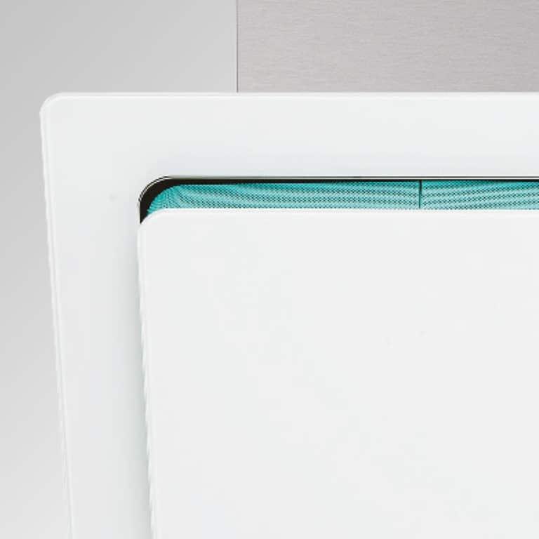 Filterabdeckung Türkis (Pantone 7472C)