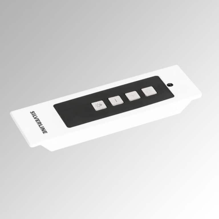 Infrarot-Fernbedienung, weiß, inkl. Einbau-Kit