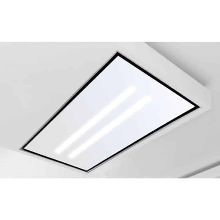 Glasplatte mit LED-Beleuchtung, Weißglas 100 x 60 cm