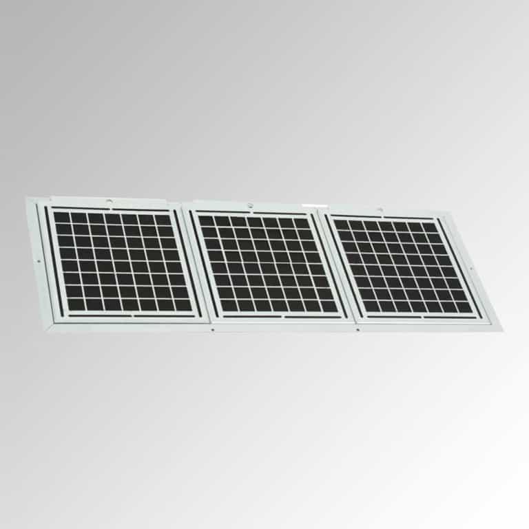 1 x Umluft-Starter-Set (Gehäuse + 3 x AFP) 120 cm