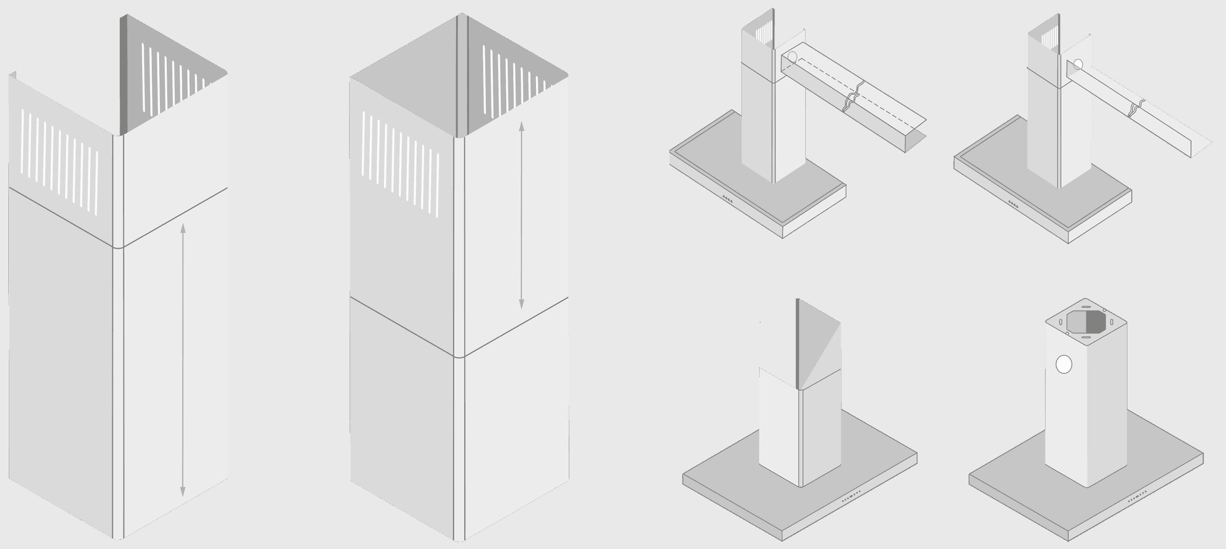 Massgeschneiderte Dunstabzugshauben | SILVERLINE