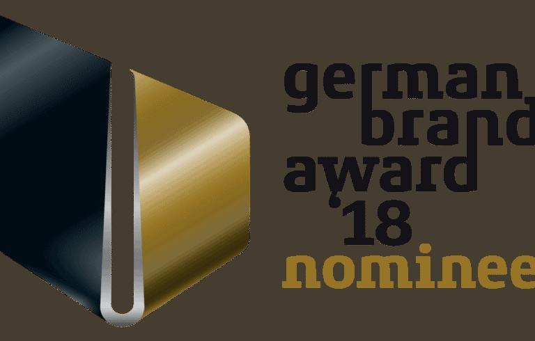 SILVERLINE nominiert für German Brand Award 2018