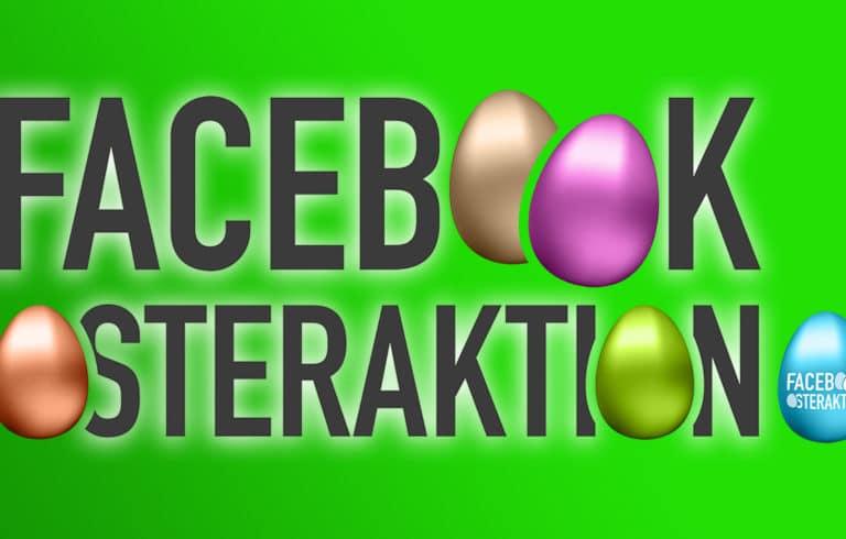 Ja, ist denn schon wieder Ostern – Die SILVERLINE Facebook Osteraktion!