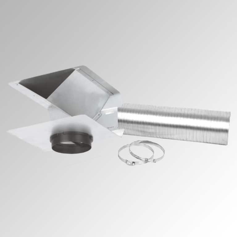 Umluft-Set (bei Umluftbetrieb mit Schacht; ohne Aktivkohlefilter)