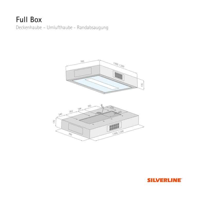 Maßzeichnung Full Box