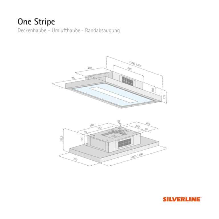 Maßzeichnung One Stripe