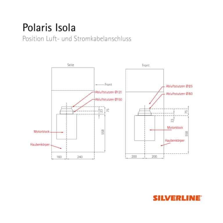 Position Luftauslass Polaris Isola