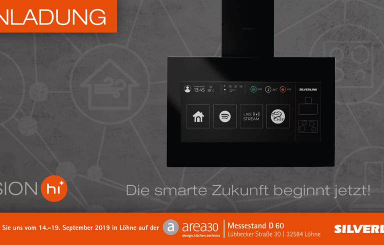 Einladung zur area30 ǀ Die smarte Zukunft beginnt jetzt!