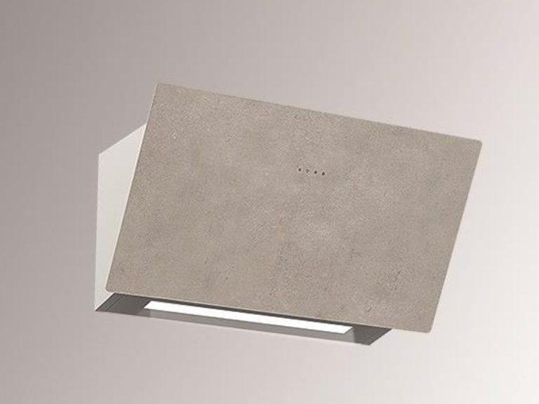 Korpus grau, Luxury Cement, ohne Schacht, 80 cm