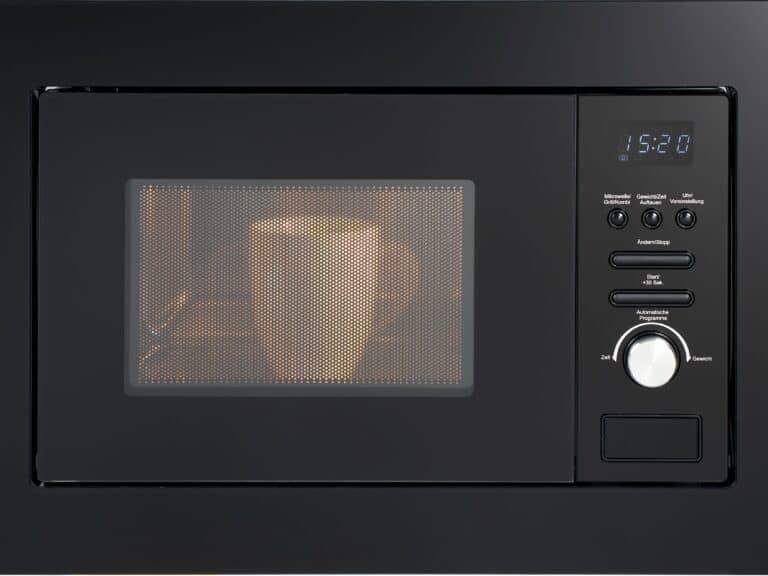 Digitale Uhr mit Wecker-/Eieruhr-Funktion, Weißes Display, 7-Segment-Anzeige