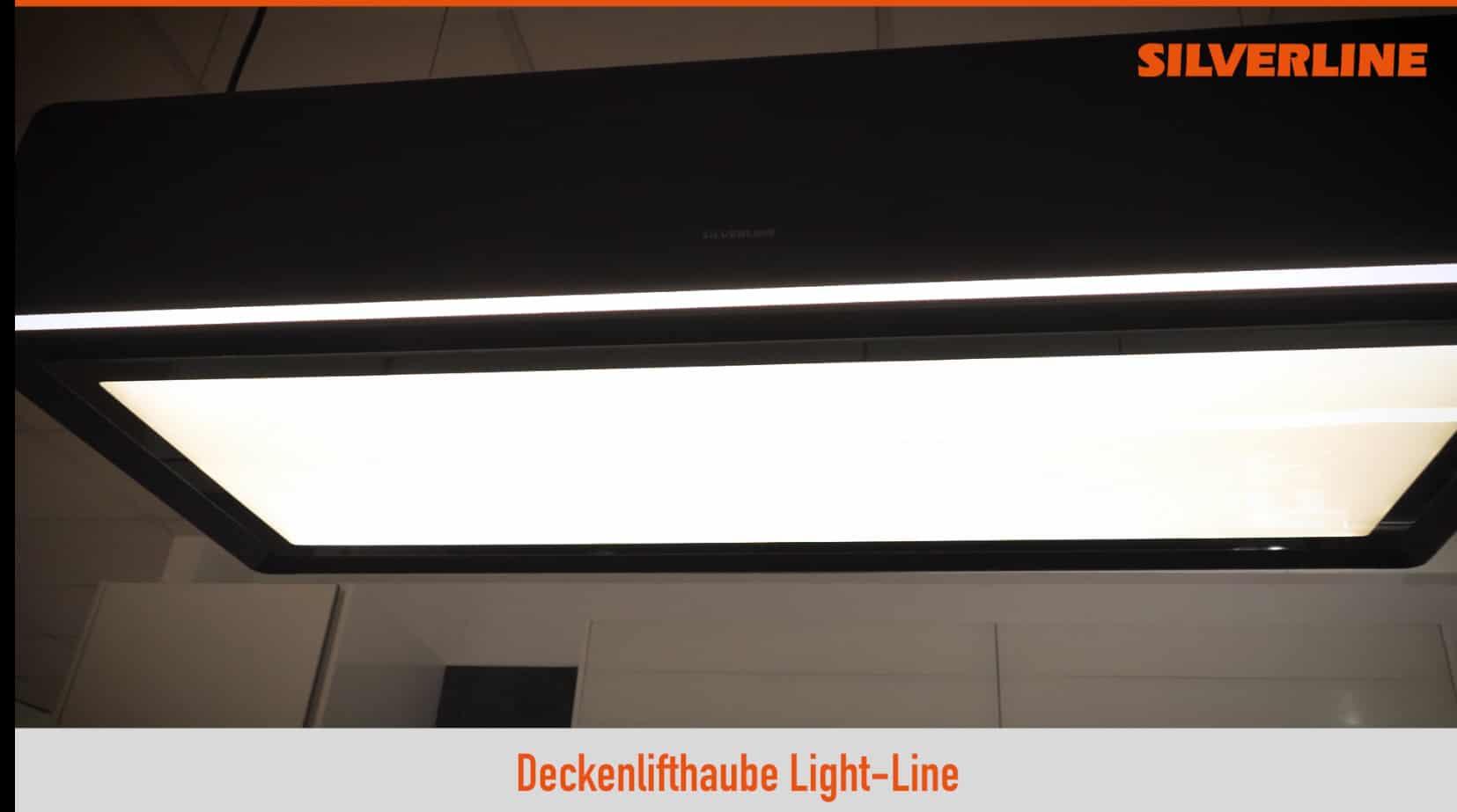 Das Multitalent: SILVERLINE Umluft-Deckenlifthaube Lightline