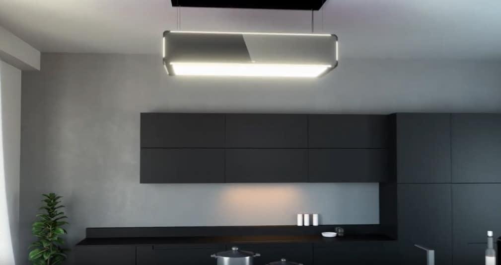 SILVERLINE Umluft-Deckenlufthaube Lightline - Montagevideo