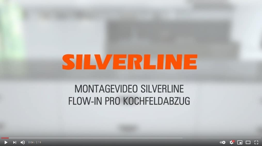 SILVERLINE FLOW-IN Pro - Montagevideo