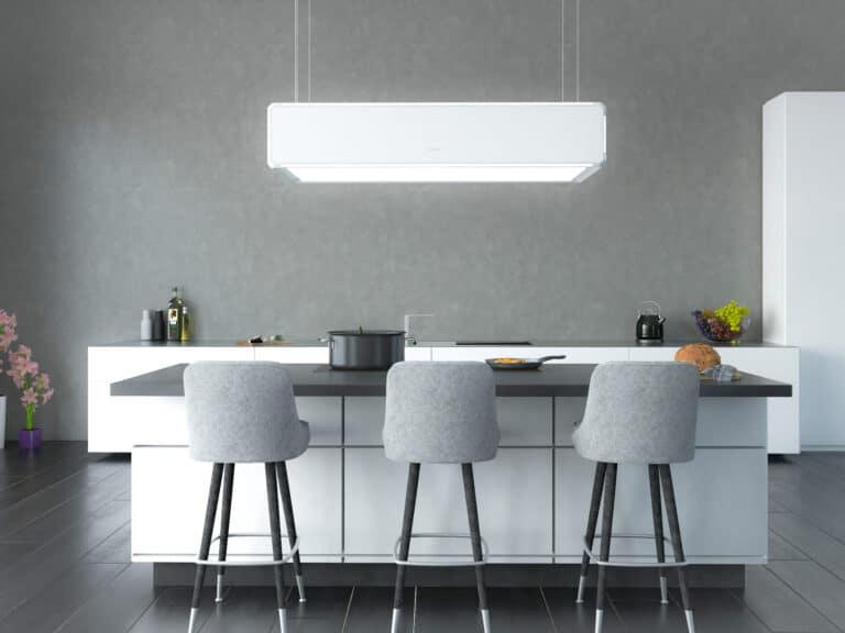 Lightline in Weiß