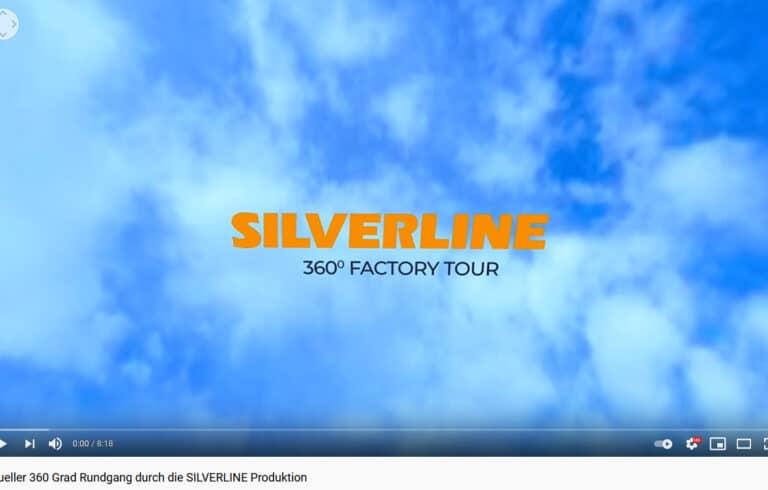 Virtuelle 360 Grad Video-Tour durch die SILVERLINE Produktion